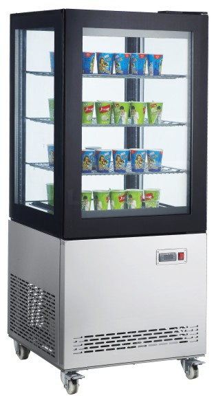 4 Side Glass Display Refrigerator(Triple Glass)