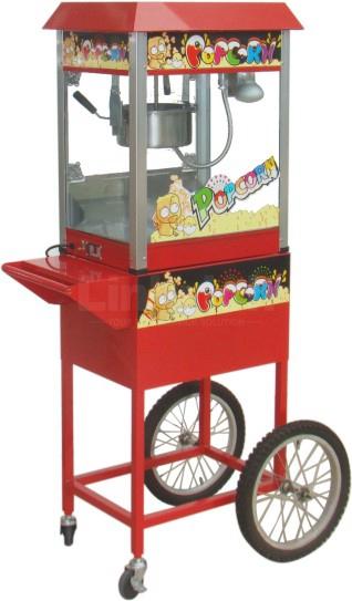 Popcorn Machine (Red/Black) LR-PM-6A