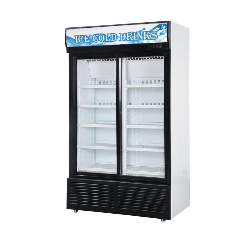 Glass Door Chiller and Freezer SG-860FB2
