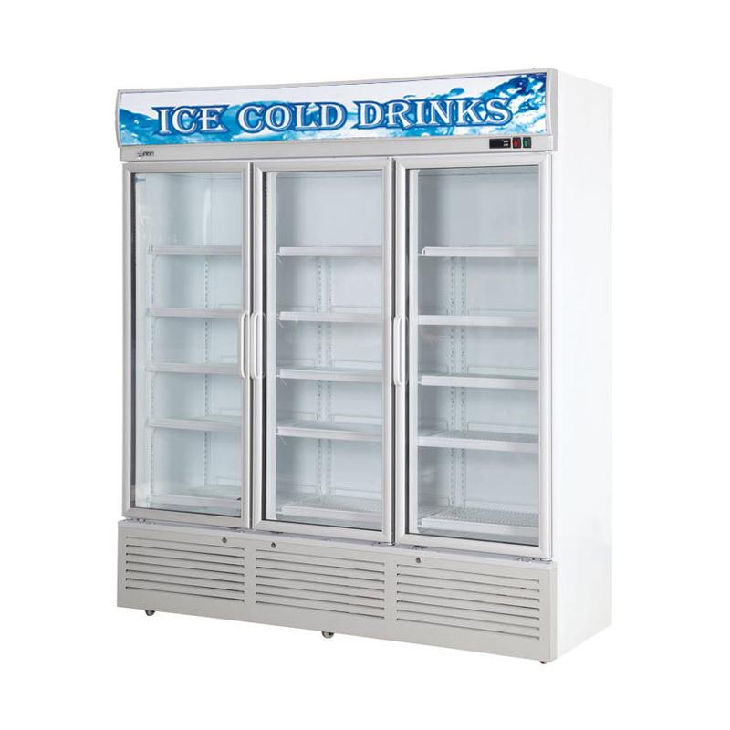 Glass Door Chiller and Freezer SG-1260A3