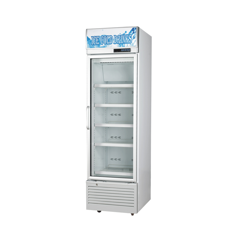 Glass Door Chiller and Freezer SG-360FA1