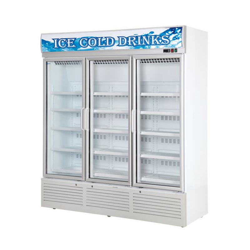 Glass Door Chiller and Freezer SG-1260FA3