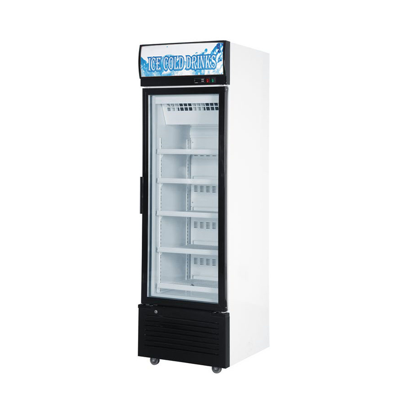 Glass Door Chiller and Freezer SD-360FA1