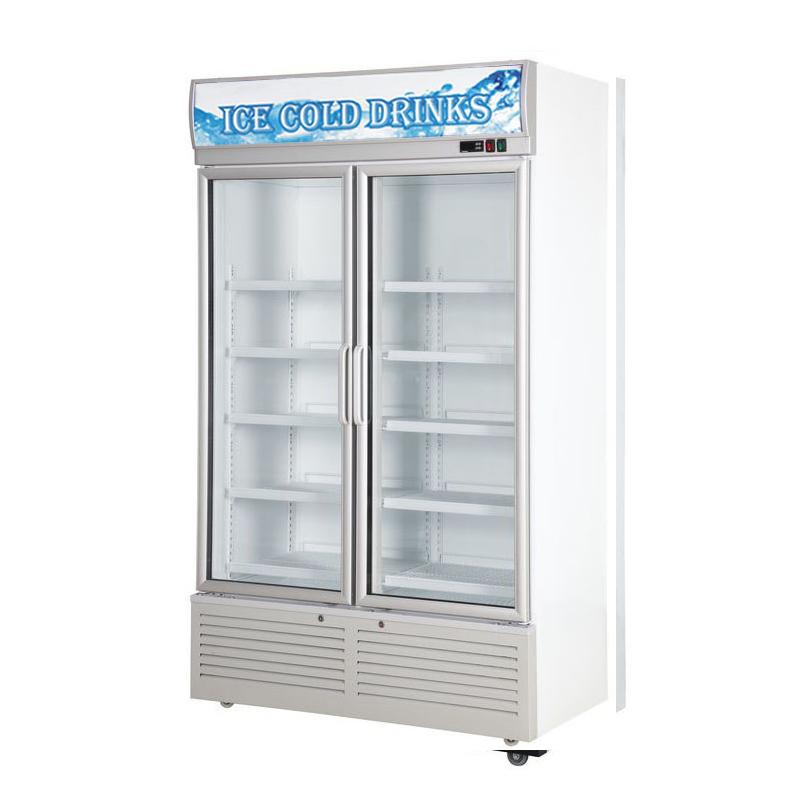 Glass Door Chiller and Freezer  SG-860A2