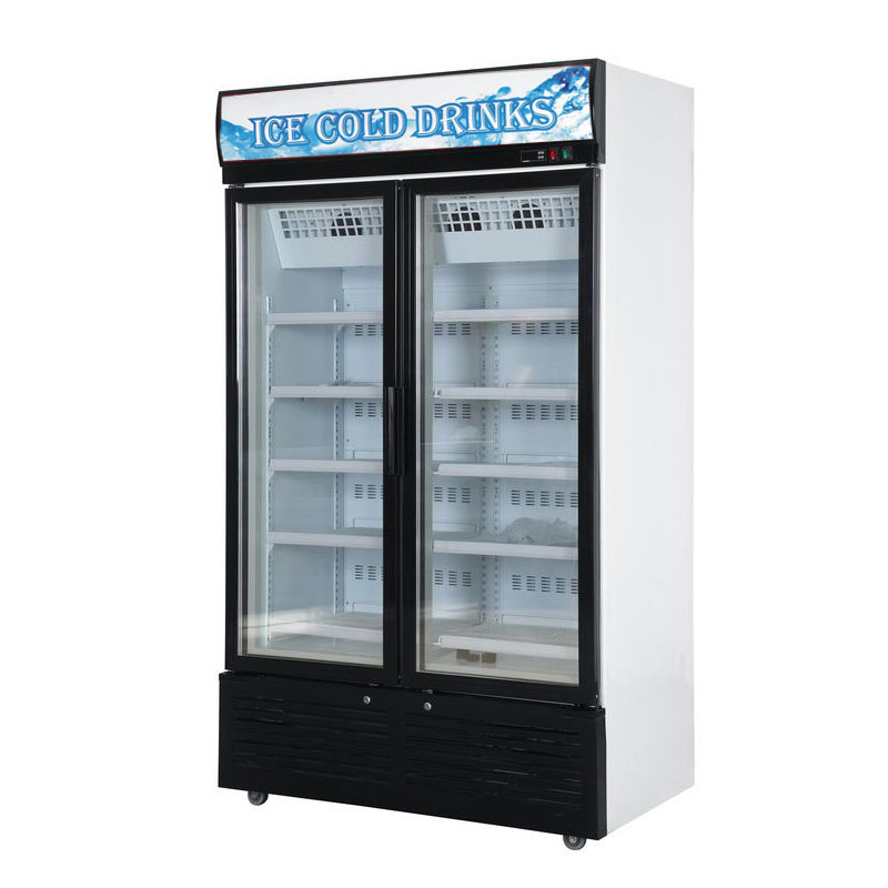 Glass Door Chiller and Freezer SD-860FA2