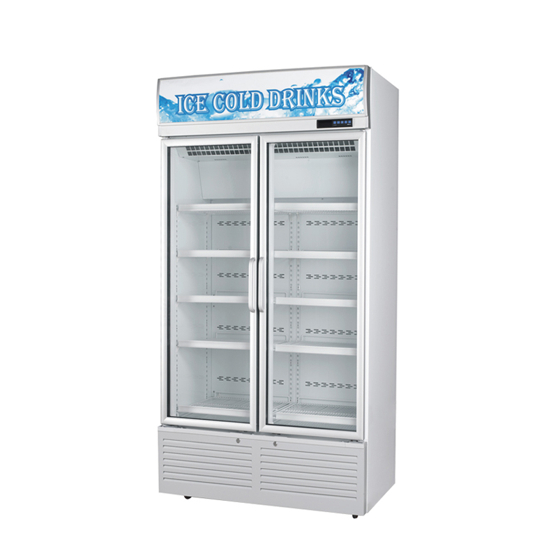 Glass Door Chiller and Freezer  SG-860FA2