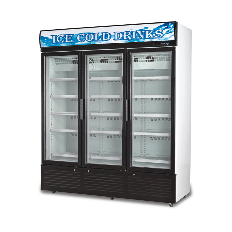 Glass Door Chiller and Freezer SD-1260FA3